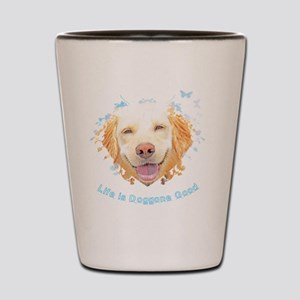 Life is Doggone Good (Butterfly) Shot Glass