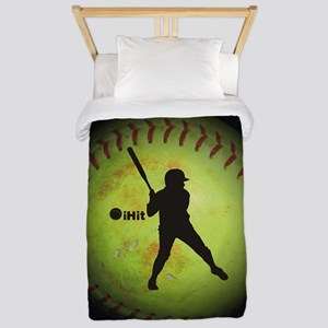 iHit Fastpitch Softball (right handed) Twin Duvet