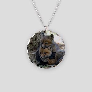 9x12_print  5 Necklace Circle Charm