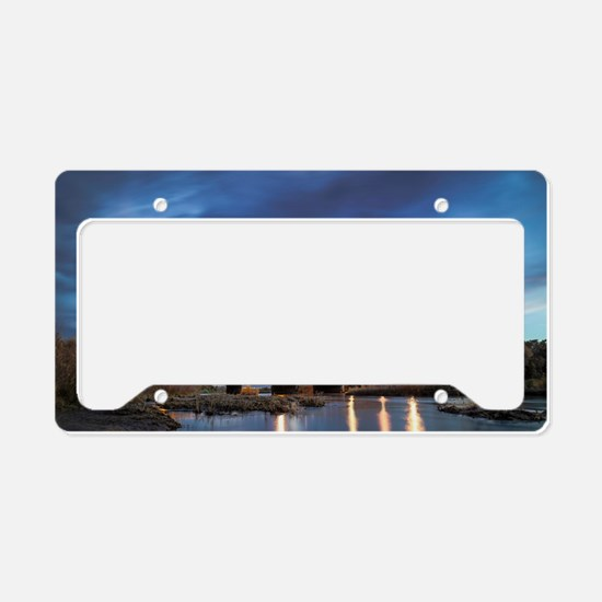 Bosque Highway License Plate Holder