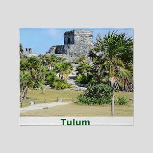 Tulum 2 Throw Blanket