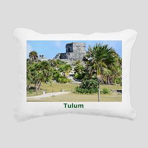Tulum 2 Rectangular Canvas Pillow