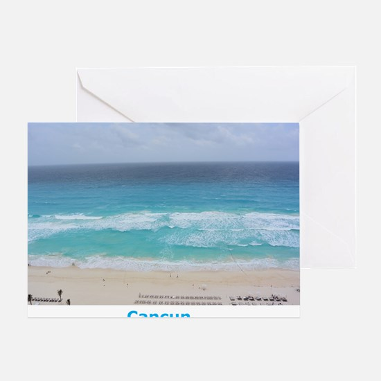 Cancun Cover Greeting Card