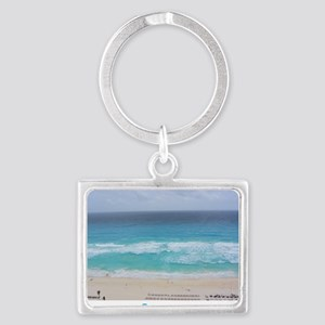 Cancun Cover Landscape Keychain