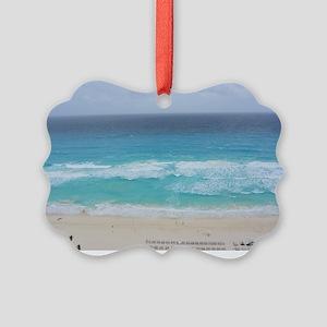 Cancun Cover Picture Ornament