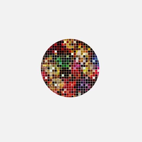 Crazy Disco Mini Button