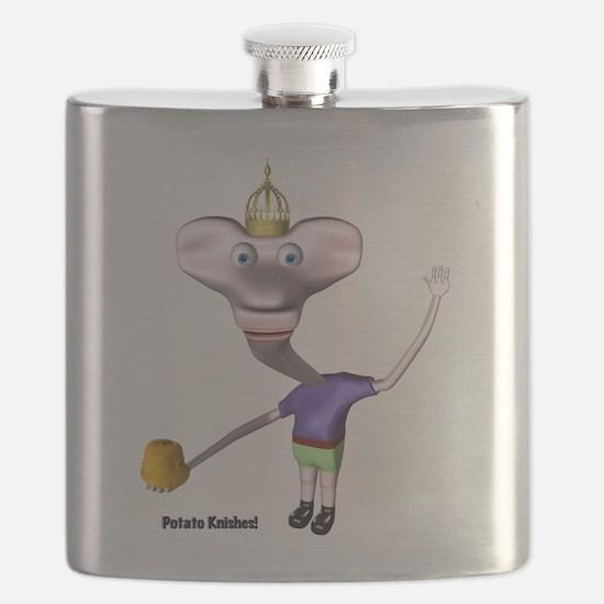 Little King John Potato Knishes Flask
