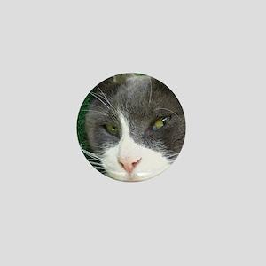Portrait of Morty Mini Button