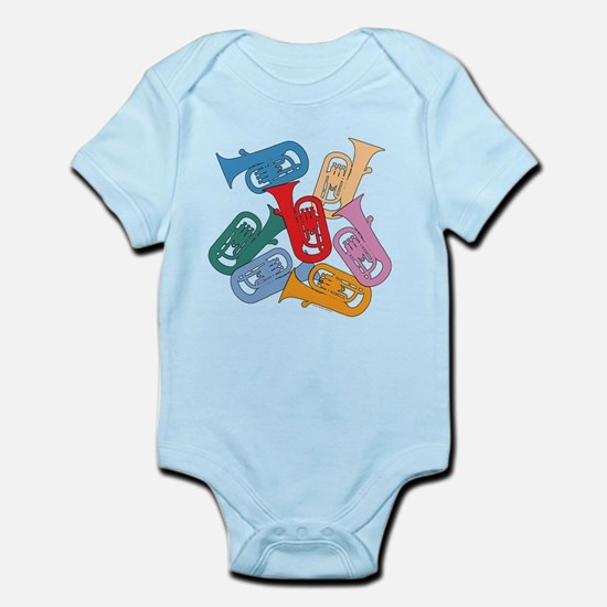 Colorful Euphoniums - Infant Bodysuit