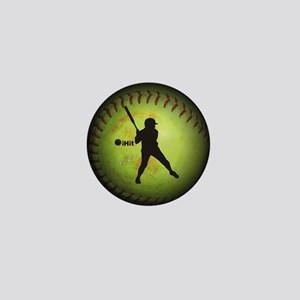 iHit Fastpitch Softball (right handed) Mini Button