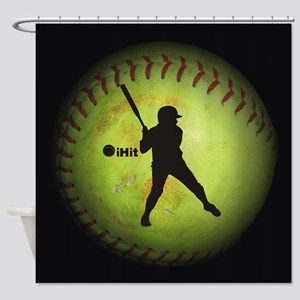 iHit Fastpitch Softball (right handed) Shower Curt