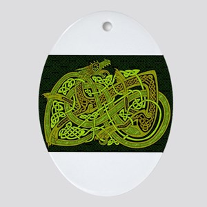 Celtic Best Seller Oval Ornament
