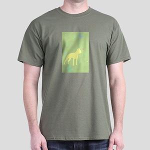 boston terrier butterflies Dark T-Shirt