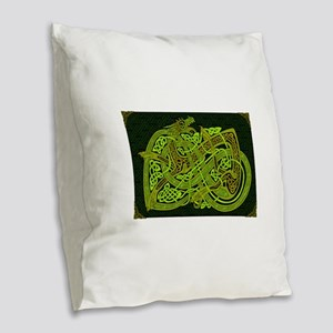 Celtic Best Seller Burlap Throw Pillow