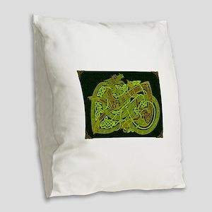 Celtic Best Seller Burlap Throw Pillow