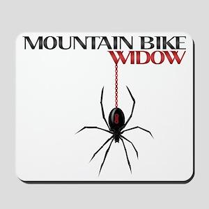 Mountain Bike Widow Mousepad
