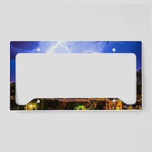 Lightning Dance License Plate Holder