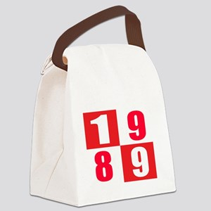 Made In 1989 Designs Canvas Lunch Bag