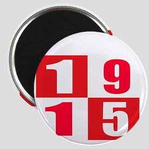 Born In 1915 Designs Magnet