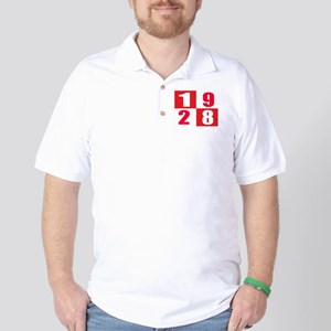 Born In 1928 Designs Golf Shirt