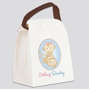 Sibling Rivalry Canvas Lunch Bag