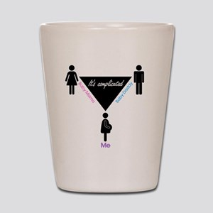 It's Complicated... Shot Glass