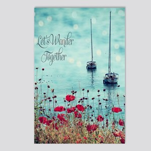 Sea and Poppies Postcards (Package of 8)