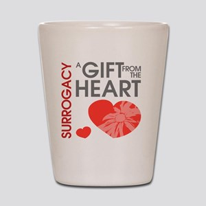 Surrogacy A Gift from the Heart Shot Glass