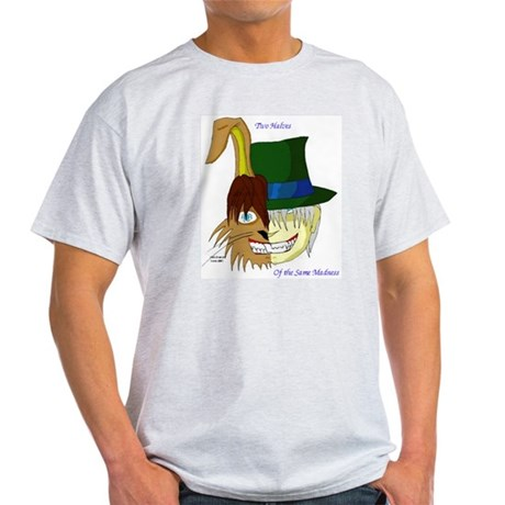 Mad Hatter, March Hare Light T-Shirt