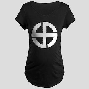 Fylfot 1 Maternity Dark T-Shirt