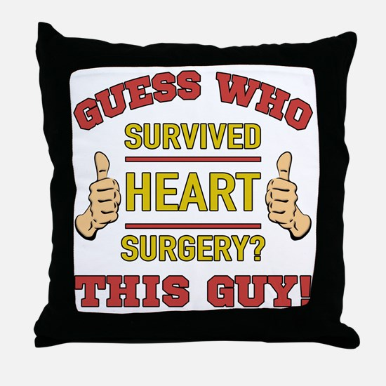 Cute Funny for men Throw Pillow