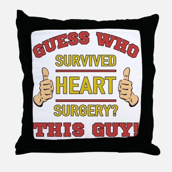 Funny Procedure Throw Pillow