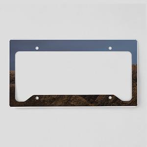 Sandia Peak License Plate Holder