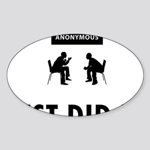 Alcoholic-Anonymous-04-A Sticker (Oval)