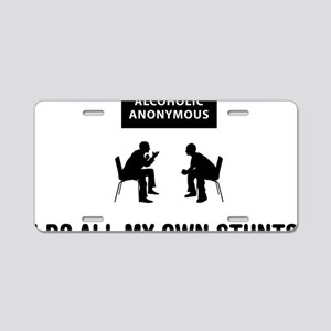 Alcoholic-Anonymous-03-A Aluminum License Plate