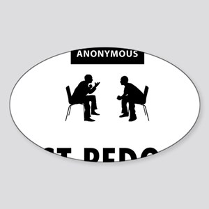 Alcoholic-Anonymous-05-A Sticker (Oval)