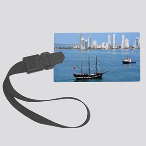 Bocagrande at Cartagena Large Luggage Tag