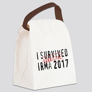 Hurricane Irma Canvas Lunch Bag