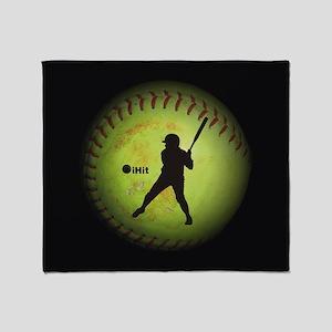 iHit Fastpitch Softball (left handed) Throw Blanke