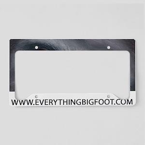 EVERYTHING BIGFOOT! License Plate Holder