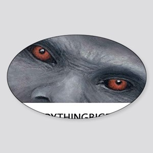 EVERYTHING BIGFOOT! Sticker (Oval)
