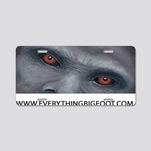 EVERYTHING BIGFOOT! Aluminum License Plate