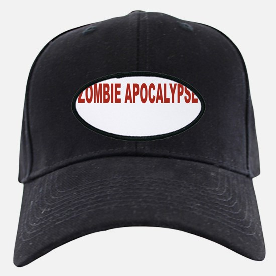 Zombie Apocalypse Baseball Hat