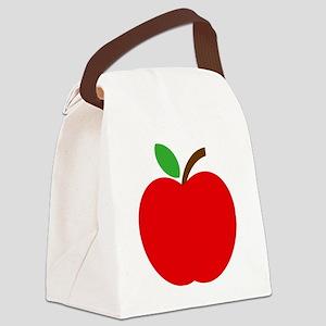 Apfel Canvas Lunch Bag