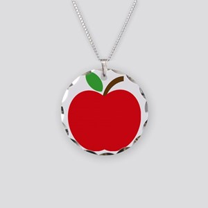 Apfel Necklace Circle Charm