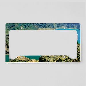 Lagoa do Fogo License Plate Holder