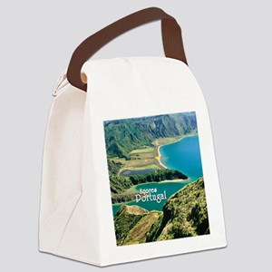 Lagoa do Fogo Canvas Lunch Bag