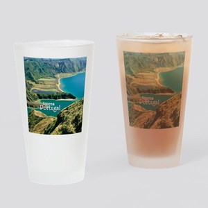 Lagoa do Fogo Drinking Glass