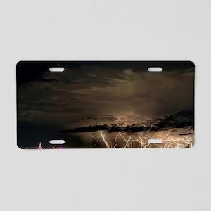 Albuquerque Storm Aluminum License Plate