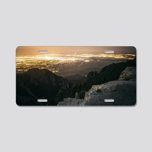 View Down Aluminum License Plate